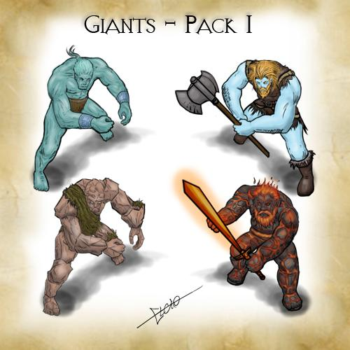 Giants - Pack 1