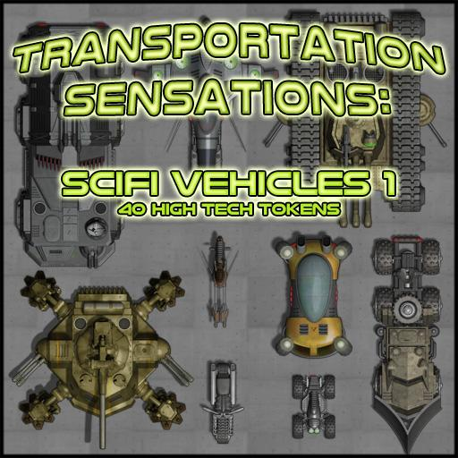 Transportation Sensations: SciFi Vehicles 1