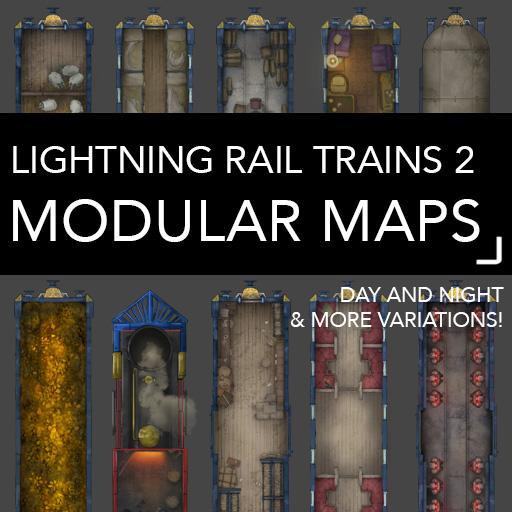 Lightning Rail Trains 2 Modular Maps