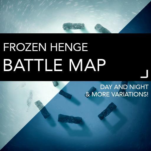 Frozen Henge Battle Map