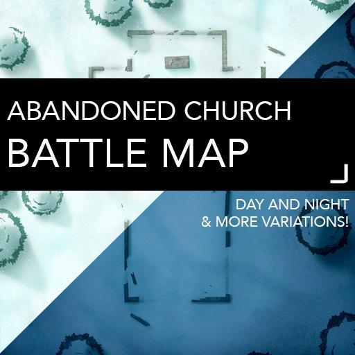 Abandoned Church Battle Map
