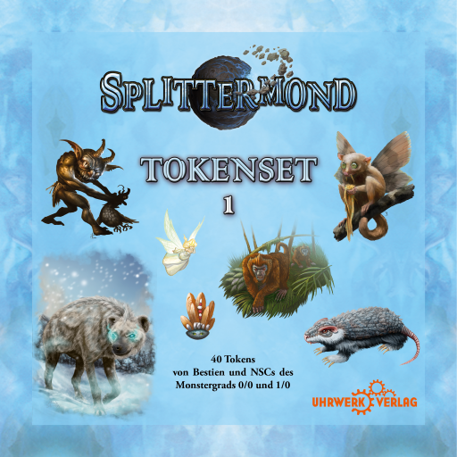 Splittermond - Token Set 1
