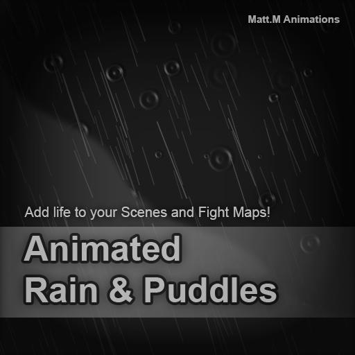 Animated Rain & Puddles