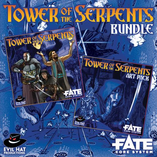Tower of the Serpents: World and Art Bundle