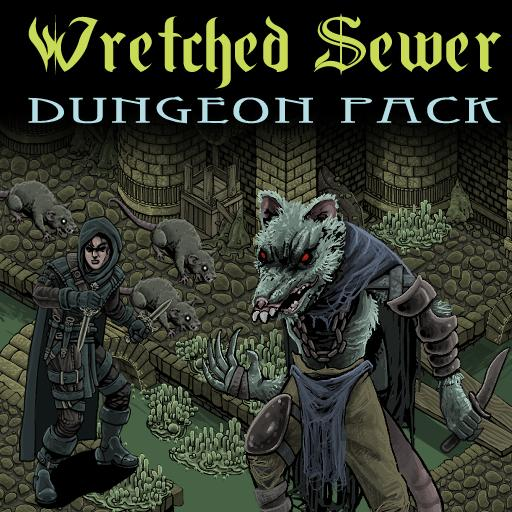 Wretched Sewer: An Isometric Dungeon Pack