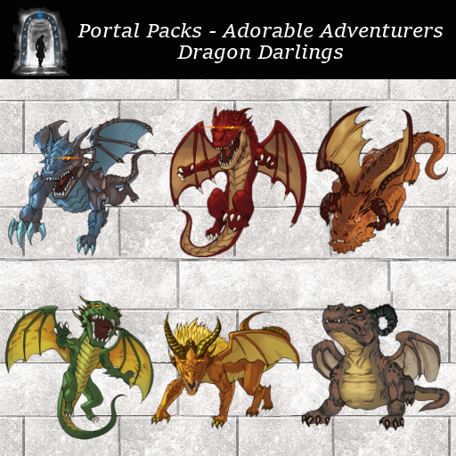 Portal Packs - Adorable Adventurers - Darling Dragons