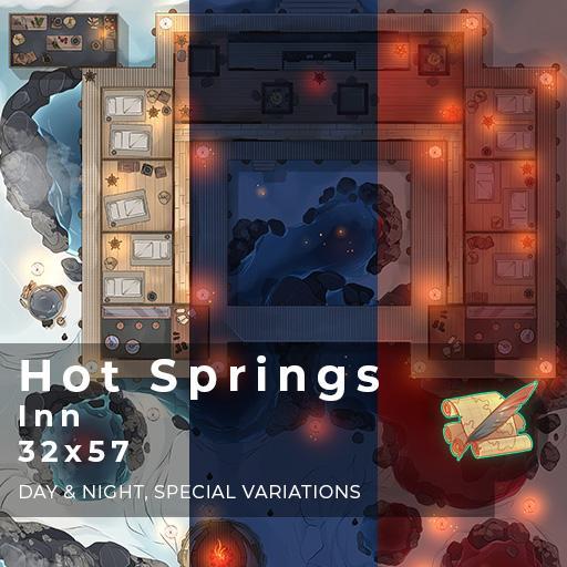 Hot Springs Inn Battlemap