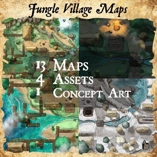 Jungle Village Map Pack