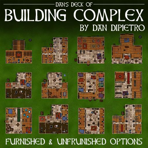 Dan's Deck of Building Complex