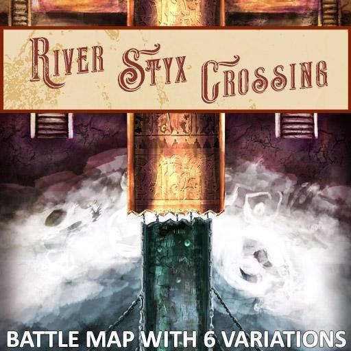 River Styx Crossing Battle Map