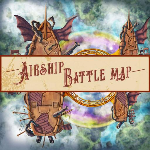 Airship Battle Map