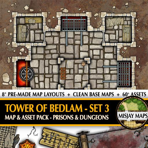 Tower of Bedlam SET 3