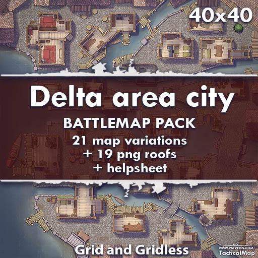 Delta Area City
