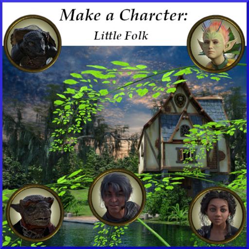 Make-A-Character:  Little Folk