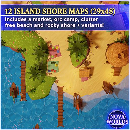 Island Shore Maps