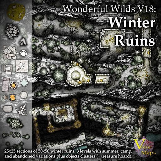 Wonderful Wilds V18: Winter Ruins