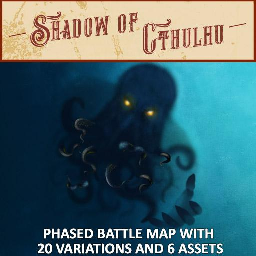 Shadow of Cthulhu Battle Map Pack