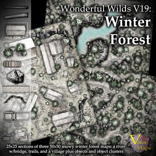 Wonderful Wilds V19: Winter Forest