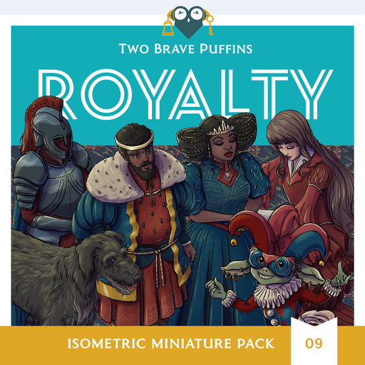 Royalty - Isometric Heroes Pack 09