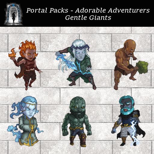 Portal Packs - Adorable Adventurers  - Gentle Giants