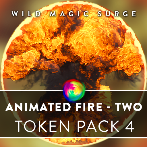 Animated Fire Tokens Two