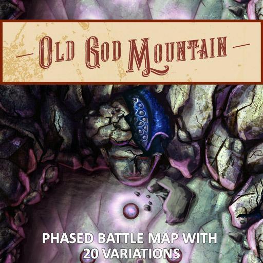 Old God Mountain Phased Battle Maps