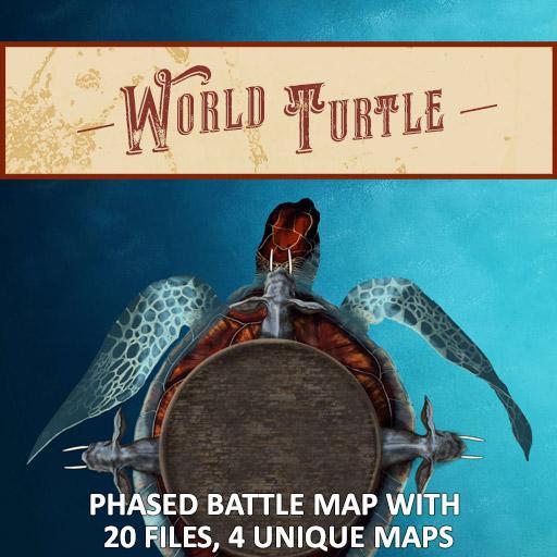 World Turtle Battle Map