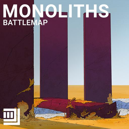 Monoliths Battlemap