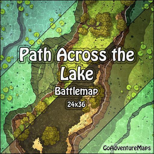 Path Across the Lake