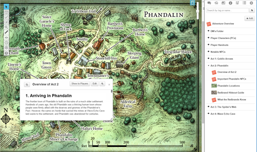 Lost Mine Of Phandelver Roll20 Marketplace Digital Goods For Online Tabletop Gaming