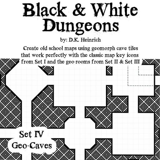Black & White Dungeons – Set IV