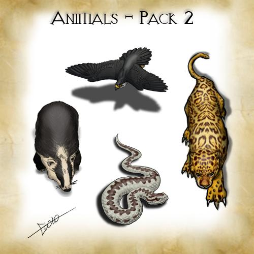 Animals - Pack 2