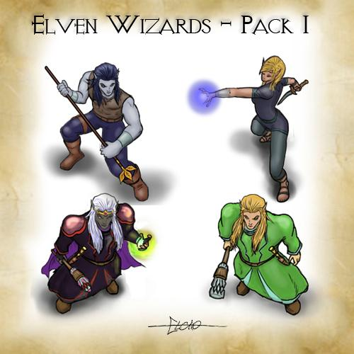 Elven Wizards Pack