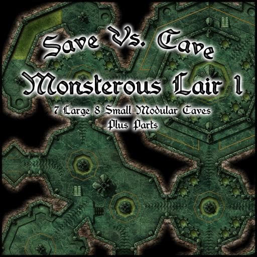 Save Vs. Cave Monsterous Lair 1