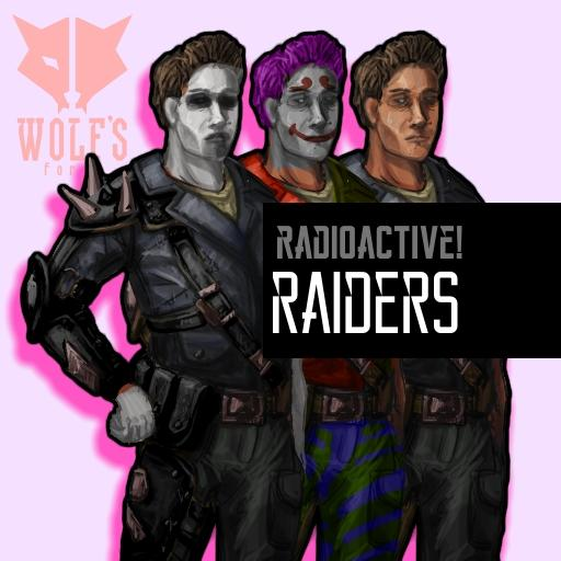 Radioactive Wasteland Raiders