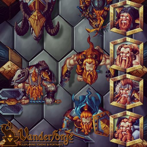Male Dwarf Heroes 1