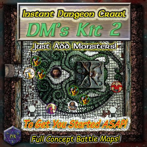 Instant Dungeon Crawl: DM's Kit 2