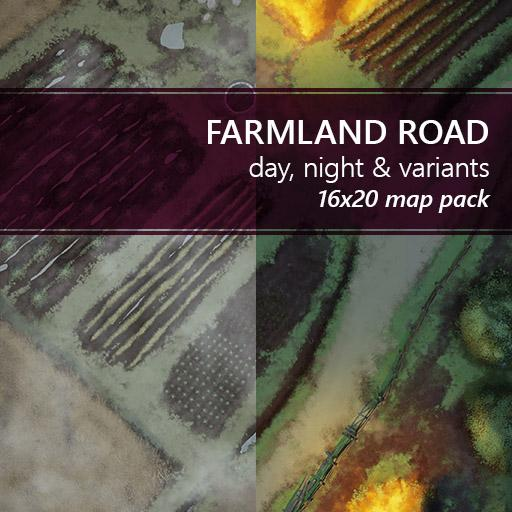 Farmland Road Battlemaps