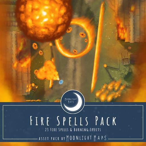 Fire Spells Pack