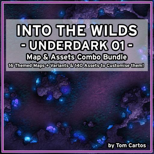 Into the Wilds Underdark 01 Combo Bundle