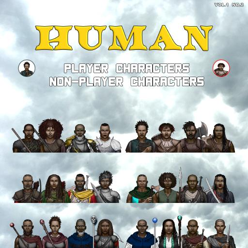MBTB Tokens Vol.1 No.2 - Human PC's & NPC's