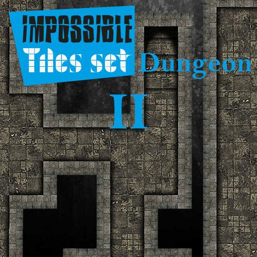 Impossible Tiles Set: Dungeon 2