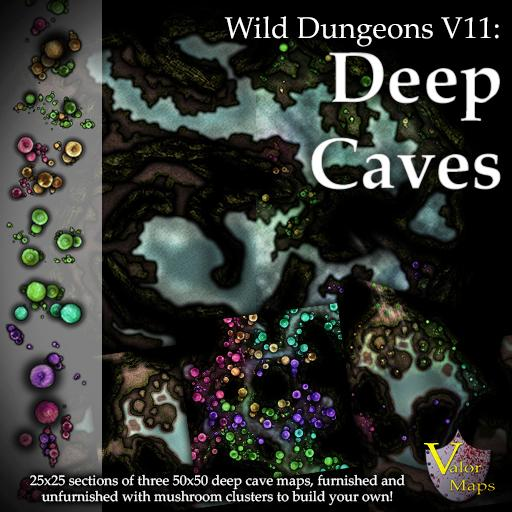 Wild Dungeons V11: Deep Caves