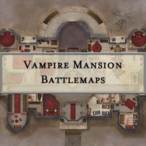 Vampire Mansion Battlemaps
