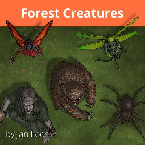 Jans Token Pack 26 - Forest Creatures