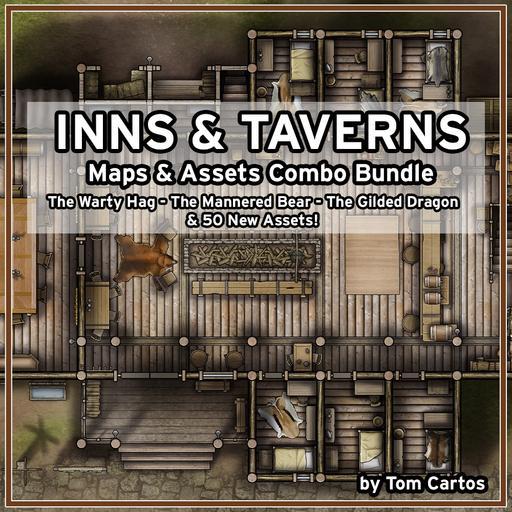 Inns & Taverns Maps & Assets Bundle