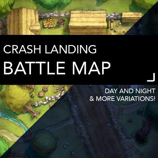 Crash Landing Battle Map