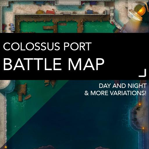 Colossus Port Battle Map