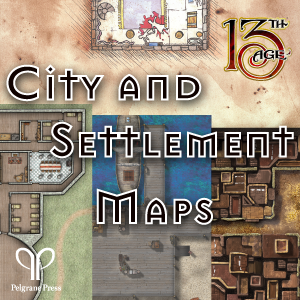City and Settlement Maps