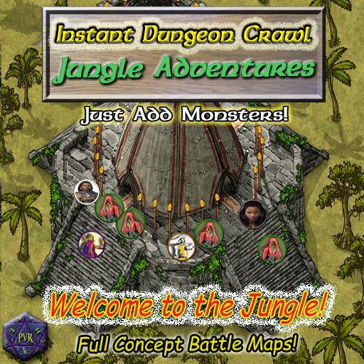 Instant Dungeon Crawl: Jungle Adventures